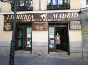 El libro en Librería Madrid
